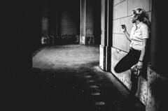 cigarette daydreams (matthias hämmerly) Tags: candid street streetphotography shadow contrast grain ricoh gr black white bw monochrom monochrome city town urban blackandwhite strasse people monochromphotography einfarbig personen zuerich everybody streetphotoclub pendler train moving commuter dark everybodystreet streetphotographyclub peoplephotography trainphotography commutephotography commuters commute hb smoking smoker woman dream daydream