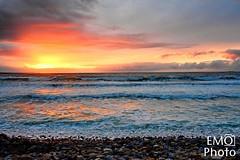 DSC_3957-2 (E Michelle O'Connor) Tags: ireland irelandsunset strandhill strandhillbeach beachsunset countysligo oceansunset oceanwaves irelandocean irelandlandscape wildatlanticway