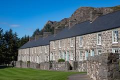 Welsh Cottages (Evoljo) Tags: llynpeninsula wales gwynedd houses homes roofs sky mountain trees uk windows buildings nikon d500