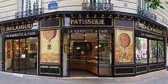 Boulangerie, Avenue Gambetta, Paris (Nick_Fisher) Tags: boulangerie avenue gambetta paris patisserie nickfisher bakery shopfront retail store france 86 gambette pain biologique farine