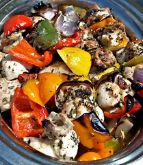 Cheesey Kebab with Peppers (Tony Worrall) Tags: food foodie foodophile foodporn foodpictures foodstuff foodpics eat eaten cook cookery cooked cooking dish chef dine plated make meal ilobsterit instagram grub buy sell sale bought stock item color ingrediants lunch devour taste tasty freshtaste menu made mealtime chow nice picturesoffood photos foodphotography treat british cheese bbq kebab