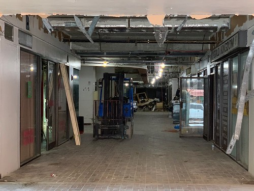 Renovations Inside Metro Mall Downtown Miami