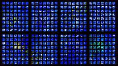discover blue (bilderkombinat berlin) Tags: ⨀2018 berlin charlottenburg capital church gabrielloire concrete glass blue symmetry pattern citysights europa germany deutschland sightseeing gedächtniskirche eu