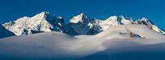 La Meije in winter (Michel Couprie) Tags: europe france alpes alps hautesalpes lautaret lameije snow montagne mountain landscape panorama canon eos couprie 7d