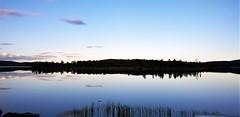 WP_20180630_22_27_33_Pro (www.ilkkajukarainen.fi) Tags: ukko järvi lake lapland ivalo inari jävi night yö finland finlande happy life travel travelling summer kesä 2018 lappi arctic circle napapiiri maisema nature photo luonto kuva reflecktion heijastus