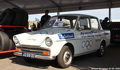 DAF Daffodil 1964 (XBXG) Tags: jz2621 daf daffodil 1964 dafdaffodil type 31 historic grand prix 2018 circuit park zandvoort cpz race track motorsport nederland holland netherlands paysbas dafje vintage old dutch classic car auto automobile voiture ancienne hollandaise néerlandaise nederlands vehicle outdoor variomatic olympic team olympicteam