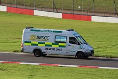 IMG_8894 (routemaster2217) Tags: britishgtchampionship doningtonpark racingcars motorsport motorracing protyremotorsportginettagt5challenge ginettag40 brscc britishracingandsportscarclub ambulance emergencyservices
