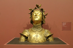 Joan Of Arc (Flint Foto Factory) Tags: chicago illinois urban city autumn fall october 2018 downtown artinstitute ofchicago art institute 111 smichiganave michiganavenue saturday first full weekend month antonin mercié jeannedarc joanofarc sculpture bust beautiful work georgef harding collection beingthere