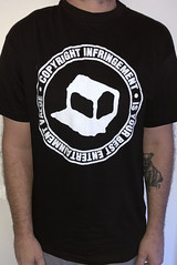 #3113A Negativeland - Copyright Infringement Is Your Best Entertainment Value (Minor Thread) Tags: minorthread tshirtwars tshirt shirt vintage rock concert tour merch black negativeland copyrightinfringementisyourbestentertainmentvalue sst noise punk