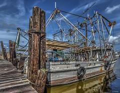 Shrimp Boat (Aliparis) Tags: blue louisiana shrimpboat nikond750 1835lens