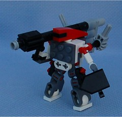 Draz Delegator (Mantis.King) Tags: lego legogaming legomecha legowargaming moc mechaton microscale mobileframezero mf0 mfz mecha mech scifi futuristic wargames draz