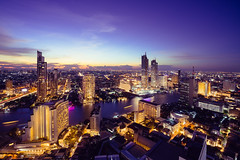 Aerial view of bangkok city skyline and skyscraper, Bangkok Thailand (Patrick Foto ;)) Tags: 2018 aerial architecture asia bangkok blue bridge building business capital city cityscape condominium district downtown dusk high hotel landmark landscape light modern night nightlife office panorama reflection river riverfront road scene scenery siam sky skyline skyscraper street sunrise sunset thailand tower town traffic travel twilight urban view waterfront bangkokmetropolitanregion th