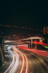 Kaimuki, Hawaii (Peralta.ChristianThomas) Tags: road long exposer freeway night low light cars lowlight canon nikon sony