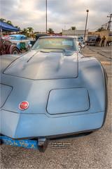 1972 corvette (pixel fixel) Tags: 1972 blue corvette fundraiser montebello montebellochristianschool oldmemoriescc stingray tweakedpixels vertical ©2018kathygonzalez