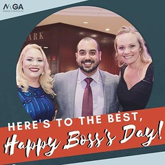 No, no, no....WE have the best boss! Happy Boss's Day, Andres! A simple thanks will never be enough for the leadership and guidance you've provided for MGA Business Consulting. We appreciate you!! 👍💥🎉🙌 (MGABusinessConsulting) Tags: mga business consulting phoenix team entrepreneurship company culture small leadership development built for success