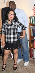 DSC_6284 (Ez2plee4u) Tags: sexy filipina wife husband skirt dress american flag booth high heels dance leg beauty beautiful leather red black yellow tv smile face colorado love happy short