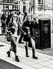 The young ones... (mikeback-streetphotography) Tags: streetstyle streetphotographer stockholm streetarteverywhere streetportrait streetphotographystreet streetlife streetphoto streetartistry streetphotography street streetphotographers streetart bnw blackwhite black blackandwhite blackandwhitephotography urban monochromatic monochrome mono