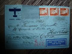 """P1610168 1937, Posta con la Cina """"Medaglia d'oro, Cav Ufficiale, Console"""" non si scherzava con i titoli! (Franz Maniago) Tags: cina postaaerea"""