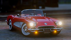 10-4-2018_5-48-01_AM (Brokenvegetable) Tags: forza horizon 4 playground games videogame chevrolet corvette photography photomode turn10 classic car