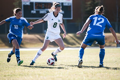 "2018_10_20PandasSoccer (16) (Don Voaklander) Tags: ""university alberta"" ""don voaklander"" voaklander edmonton alberta canada college university varsity sport sports pandas woman women women's female females academic canadian ""canada west"" ""canadian interuniversity sport"" ""u sports"" cis cw west universities athletic association"" athlete athletes soccer"