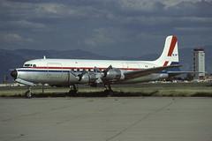 N37778 Tucson 12-10-1980 (Plane Buddy) Tags: n37778 douglas dc6 tucson