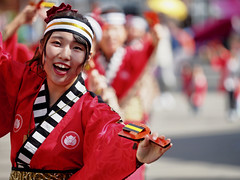YOSAKOI (osanpo_traveller) Tags: japan festival yosakoi dance olympus penf mzuiko 40150mm m43 kochi