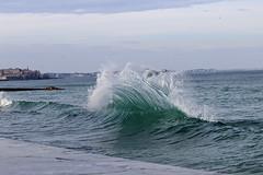 IMG_0081  marée haute à Saint-Malo (gerardstmalo) Tags: wawes vagues tide marée saintmalo