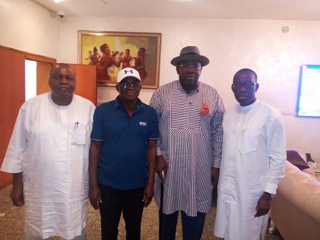 HSDickson - Post Primaries Reconciliation Meeting with David Mark Abuja,Oct 2018