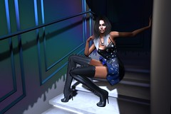 Artistic Views (Gem Henly MV♛ GREECE 2015) Tags: azoury gingerfishposes heels mithralapothecary miwas nocabide sayo secondlife sl studioexposure virtualworld