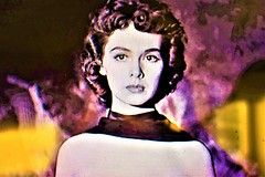 Barbara Rush (thomasgorman1) Tags: actress scifi screenshot nikon colorized effects processed 1953 woman alien retro nostalgia