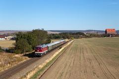 Heudeber-Danstedt (Nils Wieske) Tags: sachsenanhalt baureihe 232 ludmilla harzvorland sonderzug bahn eisenbahn train railway railroad zug züge