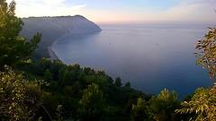 Last Sun (Daniele Torreggiani) Tags: riviera conero marche ancona sea beach bay promontory promontorio