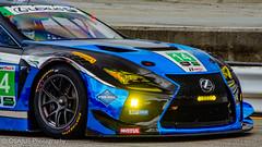 Lexus (Osajus) Tags: lexus racing race car gtlm blue 14