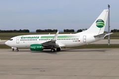 D-AGEP (11.09.2018) Airline: Germania Typ: Boeing 737-75B (maxerfspotter) Tags: dagep germania gmi st boeing 737700 flughafenerfurtweimar airport erfurt edde erf planespotting airplane flugzeug