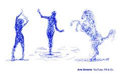 Cómo dibujar garabateando - Un excelente ejercicio - Narrado (artedivierte) Tags: arte dibujo artedivierte garabatos bocetos personas animales tutto3 artistleonardo leonardopereznieto patreon tutorial