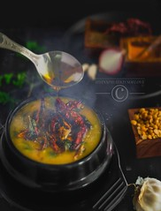 That moment the tadka meets its destination (anu.girish) Tags: myinspirationsoflove foodphotography canonphotography canonfoodphotography canoneos1200d food dal vegan beautiful action moody photography yummy cookbook magazine cover idyllic myriad