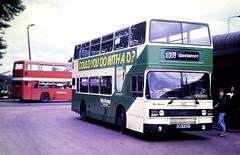 Slide 125-34 (Steve Guess) Tags: west yorkshire england gb uk bus westriding leyland olympian eww542y pontefract