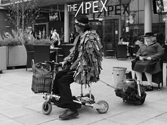 Ready to Drum (Bury Gardener) Tags: burystedmunds suffolk england eastanglia uk streetphotography street streetcandids candid candids people peoplewatching folks snaps strangers 2018 nikond7200 nikon arc thearc blackandwhite bw