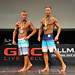 Mens Physique Masters 40+ 2nd Hildebrand 1st Meijer