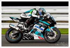 David-Allingham_0129 (steve.sargeant) Tags: dickiesbritishsupersport motorbikeracing bsb bikeracing bennetts britishsupersport oultonpark clayhill eharacing yamaha