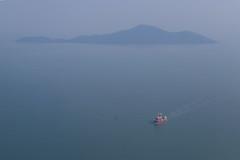 Red Boat (Treflyn) Tags: red boat island final approach hkg hong kong chek lap kok airport