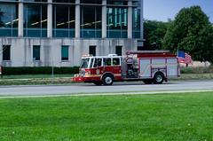 Indianapolis Truck 13 (Bracus Triticum) Tags: indianapolis truck 13 firetruck 8月 八月 葉月 hachigatsu hazuki leafmonth 2018 平成30年 summer august インディアナポリス indiana インディアナ州 unitedstates usa アメリカ合衆国 アメリカ