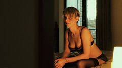 bedroom secrets (frax[be]) Tags: boudoir atmosphere 35mm fuji xe3 sexy sensual erotism woman indoor highcontrast grain composition
