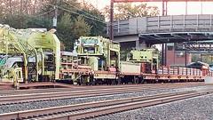 Amtrak TLM (beagenm) Tags: amtrak railtrain tlm mow tracklayingmachine northeastcorridor levittownstation levittownpa