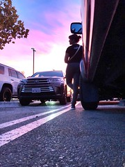 306/365 (boxbabe86) Tags: pickuptruck truck toyota thursday canyoncountry iphone8plus shopping 10secondtimer timer sunset 365days