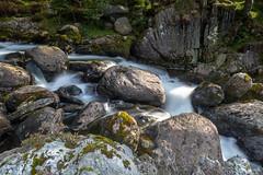 Moving Water - Llyn Ogwen #2 (Trev Green) Tags: water waterfalls waterfall nikon northwales ogwen landscape