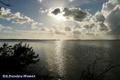 Sunset in the road of access to Cayo Coco Island, Cuba (Sebastiao P Nunes) Tags: cayococo cuba pestanacayococo panasonic lumixfz300 nunes spnunes snunes spereiranunesmar oceano agua praia playa atardecer pordosol puestadelsol sunset