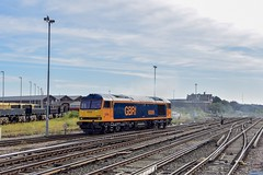0Z60 60095 Eastleigh Works - Doncaster Roberts Road (Adam McMillan Railway Photography) Tags: lightengine railway loco locomotive gbrf60 eastleighworks eastleigh 0z60 gbrailfreight class60 60095