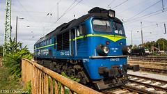 My 1st Polish diesel loco! (37001 overseas) Tags: pkp pkpcargo poland polish guben gubin st44 st441232