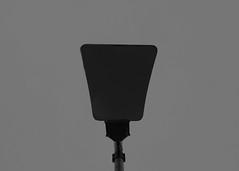 Negative Space (Tom Snowdon) Tags: negative space minamalistic negativespace durham lamp lampost blackandwhite sky dull